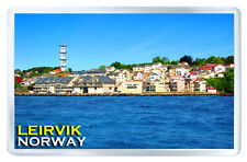LEIRVIK NORWAY FRIDGE MAGNET SOUVENIR IMAN NEVERA
