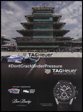 TAG Heuer TAGHeuer watch print ad 2018 Indy500