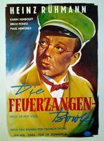Heinz Rühmann: Die Feuerzangenbowle (1944)  | Filmplakat Poster 37x47 cm