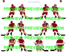 Coleco Table Hockey College Boston College Eagles Red Team Custom Decal Sheet