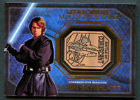 Anakin Skywalker 2016 Topps Star Wars Masterwork Medallion Battle of Coruscant