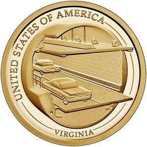 2021-S PROOF VIRGINIA  INNOVATION DOLLAR Coin ***PRE-SALE**