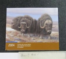 nystamps Canada Quebec Wildlife Stamp # QW17 Used $25