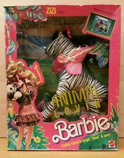 Vintage Barbie 1988 Animal Lovin' Zizi Zebra.  Brand new factory sealed.