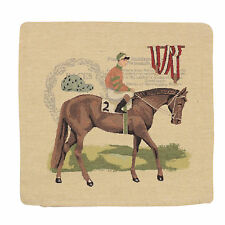 """18"""" (45cm) Cushion Cover Tappestry Style Designer Vintage Pillow """"Horse No.2"""""""