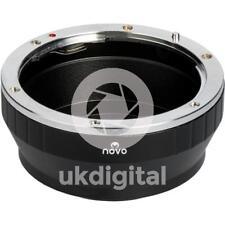 Novo Nikon F Lente Adaptador de montaje MFT