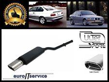 SILENCIEUX POT D'ECHAPPEMENT BMW E36 4 CYL. 1990-1995 1996 1997 1998 TIP 145x75