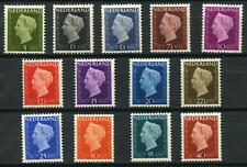 Nederland 1947 Wilhelmina Hartz 474-486 -ABSOLUUT LUXE POSTFRIS cat waarde € 108
