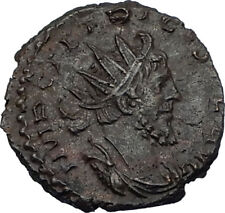 TETRICUS I 270AD Authentic Ancient Roman Coin France Area SPES HOPE i65626