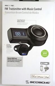 Scosche - FreqOutpro FM Transmitter with Smart USB for audio control & charging