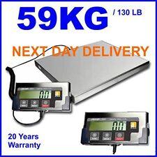 More details for jship digital 59kg 130lb parcel postal weighting scales scale industrial