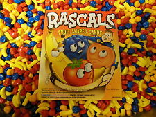 Rascals Fruit Shaped Flavored Coated Candy 5 Lbs  Dubble Bubble Concord Nut Free
