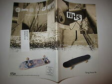 SKATEBOARD CATALOG NHS 1996 SANTA CRUZ KRUX INDEPENDENT SPEED WHEELS OLD VINTAGE