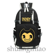 Game Bendy And The Ink Machine Backpack Laptop Student Bags Unisex Travel Bags E