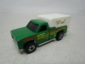 Vintage 1974 Hot Wheels BLACKWALL ERA *GREEN DRAGON PICKUP TRUCK* 1:64 (Case P)