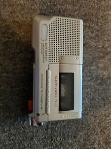Sony Pressman M-455 Handheld MicroCassette Voice Recorder TESTED & WORKS
