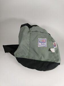 Vintage Gray & Black Famous Trails San Diego  Pack Shoulder Bag Hiking Beach USA