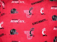 NEW UC Cincinnati Bearcats Unisex Team Logo Print Snuggie Blanket