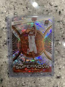 Devin Booker 2020-21 Panini Revolution Supernova #4 Fractal Phoenix Suns