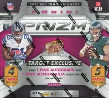 2016 Panini Prizm Football 5 Pack Box