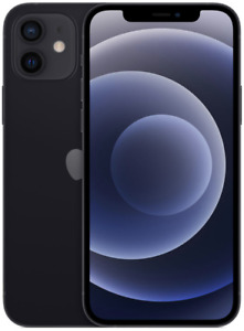iPhone 12 - Unlocked (CDMA + GSM) - 64GB - Black - Sealed