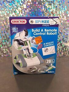 Meccano ERECTOR SPYKEE Micro IR Remote Control ROBOT #0868 (Ages 7+) NIB New!