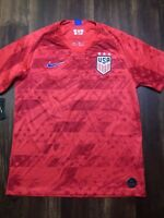 New Nike Team USA Mens Soccer Breathe Jersey Size XL Red