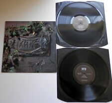 The Damned - The Black Album UK 1980 1st Press Chiswick DBL LP with Black Inners