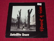 Element Of Crime:   Satellite Town    1989     Near mint 7""