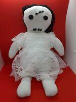"Creepy Doll Voodoo Doll plush scary! 19"""