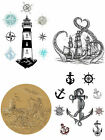 NAUTICAL LIFE Transfer furniture decal from Dixie Belle - 3 sheets