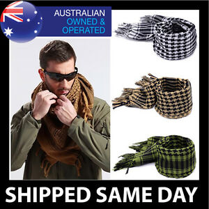 ARMY MILITARY TACTICAL SCARF Shemagh Mens Womens Face Mask Survival Gear Airsoft