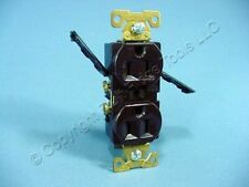 Eagle Brown INDUSTRIAL Straight Blade Duplex Outlet Receptacle 5-15R 15A 5262B