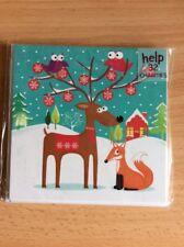 Noel Tatt 8 Pack Christmas Cards - Reindeer And Fox