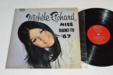 MICHELE RICHARD Miss Radio-TV '67 LP 1967 Trans-Canada TF-374 Michèle Quebec Pop