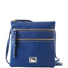 *Dooney & Bourke*Dillen*Jeans Blue*North/South Triple Zip*Cross Body 15305Z