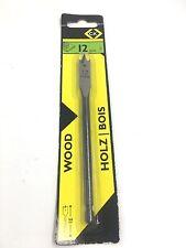 C.K TOOLS 12MM WOOD FLAT DRILL BIT T2942-12