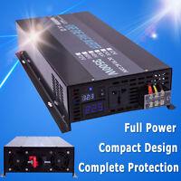 Pure Sine Wave Inverter 3500W Solar Power Inverter 12/24/48V DC to 120V/220V AC