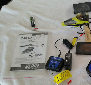 E-Flite Blade 120SRElectric Helicopter USED