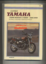 Yamaha FZ600 YX600 Radian (1986-1990) Clymer Shop Manual Book FZ YX 600 BH93