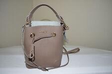 NWT $278 FURLA STACY Mini Drawstring Bag Daino
