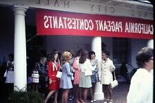 #8 35mm slide - Vintage - Collectibles -Photo - girls dress city hall