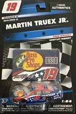2019 Martin True Jr. #19 Bass Pro Shops Patriotic 1/64 Nascar Authentics Wave 12