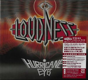 LOUDNESS HURRICANE EYES 5 CD 30TH ANNIVERSARY BOX SET JAPAN 2017 - GIFT QUALITY!