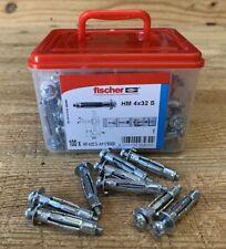 Chevilles métalliques à placo et pour corps creux Fischer M4 x 32 mm - 100 pcs