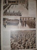 Photo article Service Cadets Parade Buckingham Palace London 1942 ref AQ