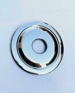 CLASSIC / VINTAGE MOTORCYCLE HUB COVER STAINLESS 7 BSA C15