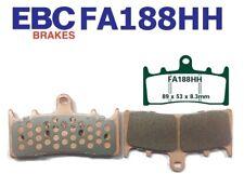 EBC Garnitures de Frein FA188HH Essieu avant Compatible en Suzuki TL 1000 Rw /