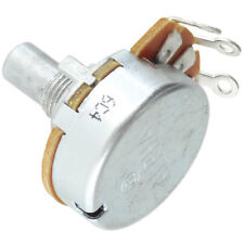 """Alpha 8mm Bushing Potentiometer,  100k Audio 1/4"""" solid shaft solder tabs 100KA"""