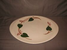 """Blue Ridge Southern Potteries Oval Platter Stanhome Ivy 14"""" Length GC"""